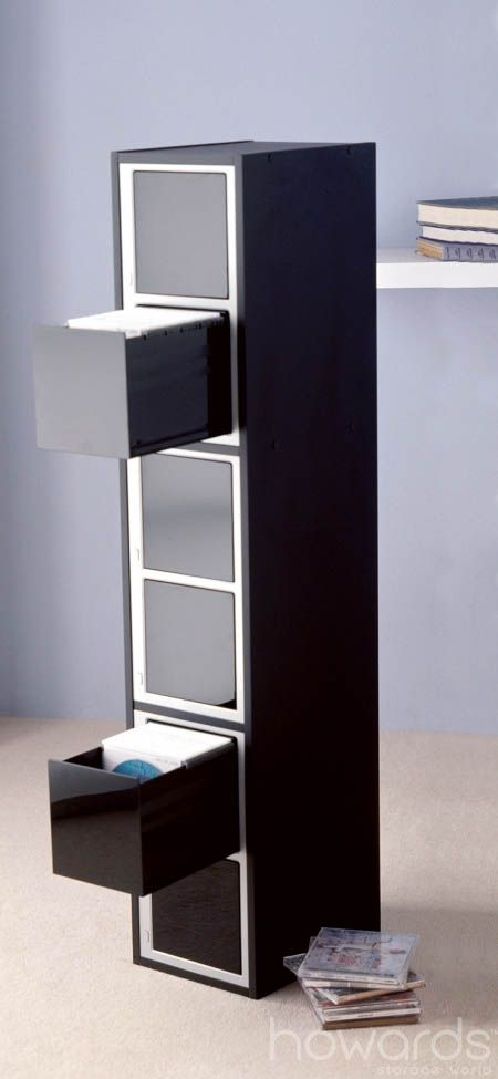 600 CDDVD Tuxedo One Touch Tower Convenient Way To Store