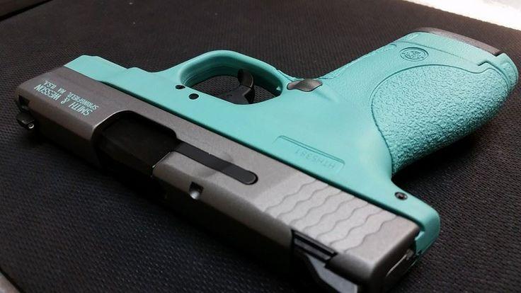 2 Color Cerakote Smith Amp Wesson Shield 9mm Tiffany And