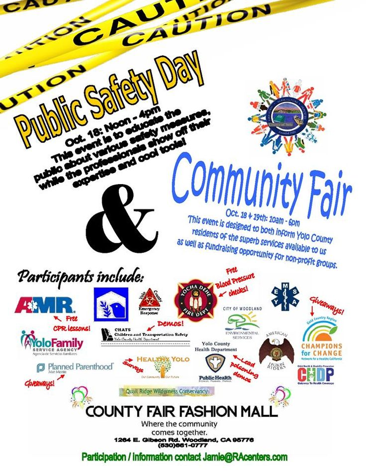 Join us County Fair Mall for our Community Resource