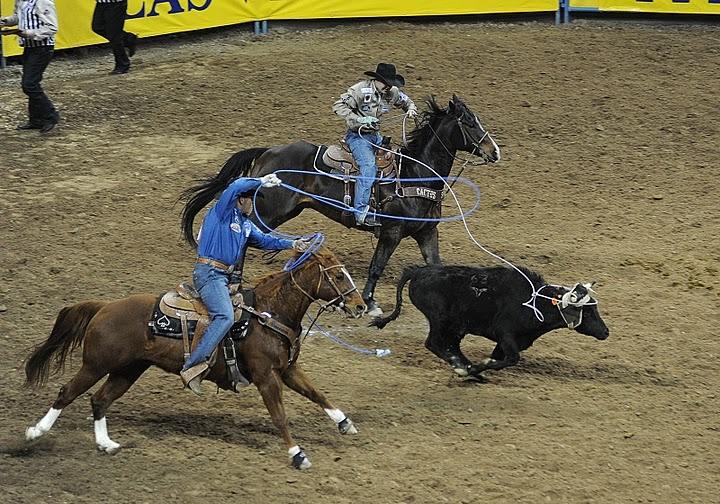 National Finals Rodeo Team Roping Let's Rodeo