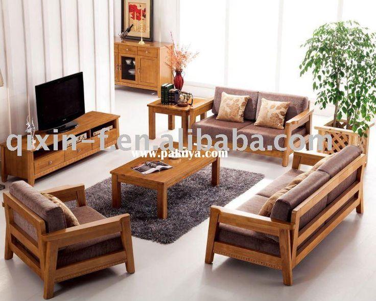 25+ Best Ideas About Wooden Sofa Set Designs On Pinterest