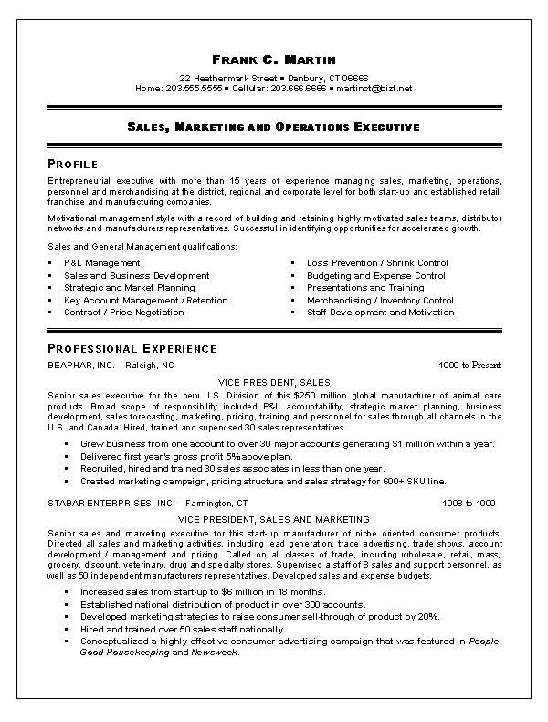 Inside Sales Resume Format. Resume Example Exsa21 Jpg. Resume For