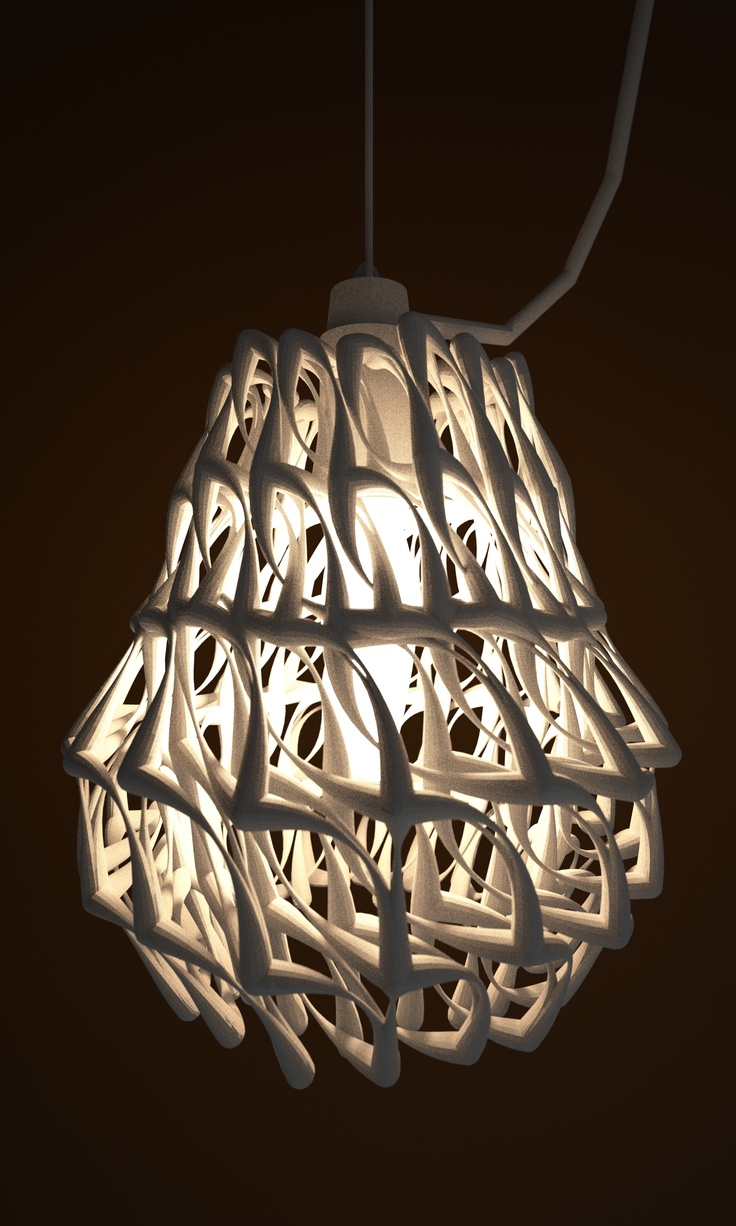 1000 Images About 3D Printed Lamp Shades On Pinterest