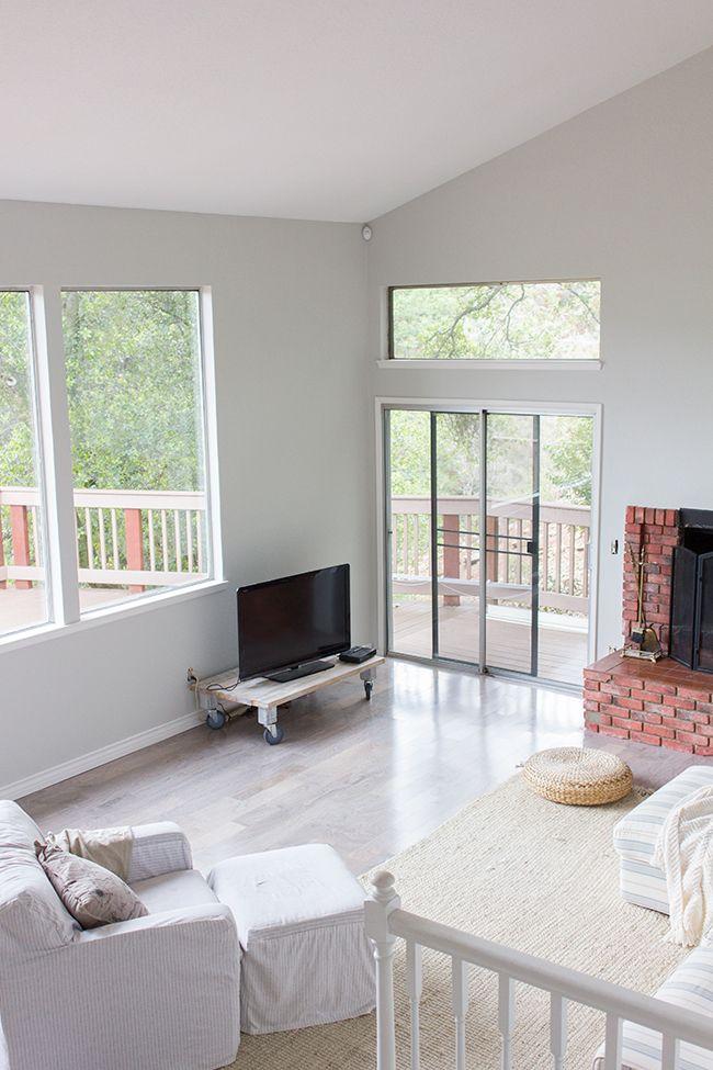 New Living Room Paint Valspars Montpelier Madison White