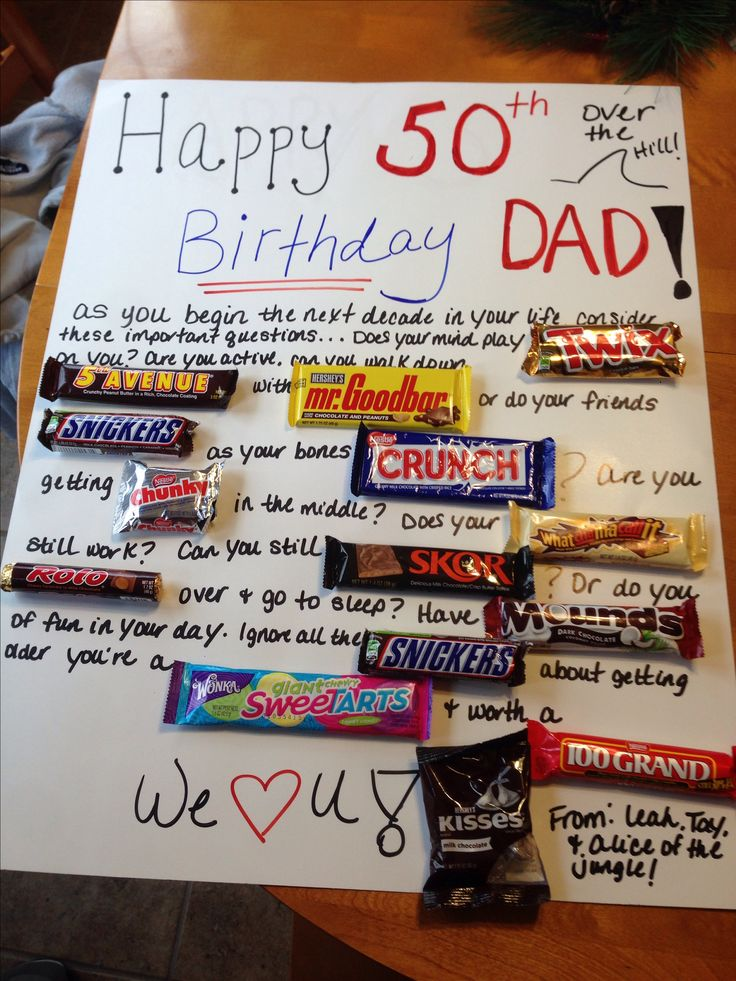 50th birthday present for my uncle! Gift ideas
