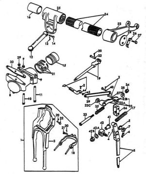 Ford 8N Hyd Parts | Hydraulic Lift Shaft | Ideas for the