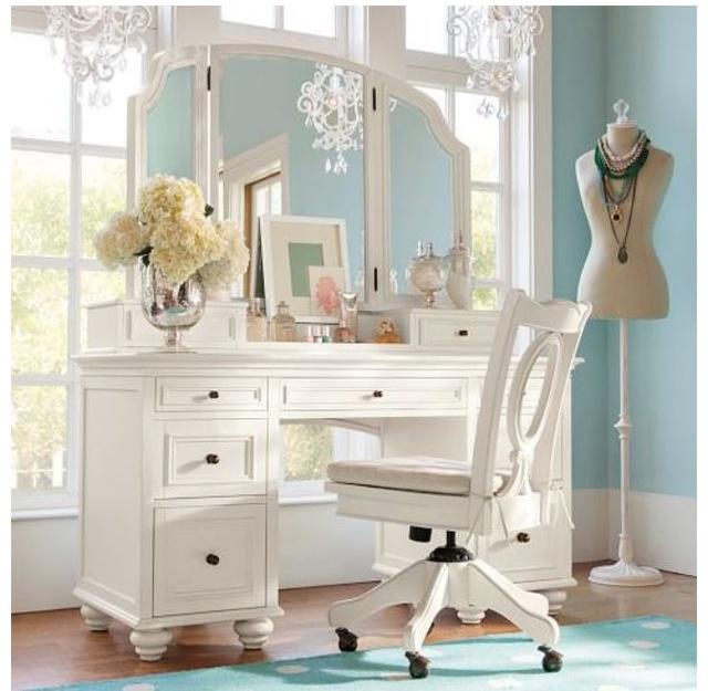 PB Teen Chelsea vanity my future bedroom Pinterest