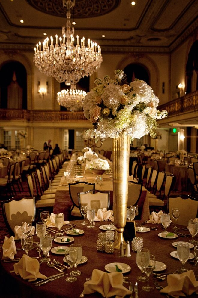 Top 25 Ideas About Burgundygold Centerpieces On Pinterest