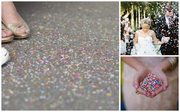 Diy Wedding Confetti Packets