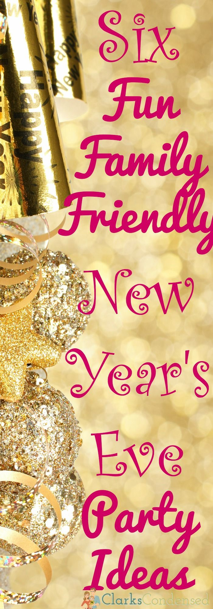 Family Friendly New Year's Eve Party Ideas Bangs
