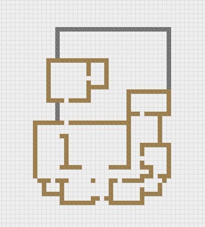 How to Draw a house like an architect's blueprint ...