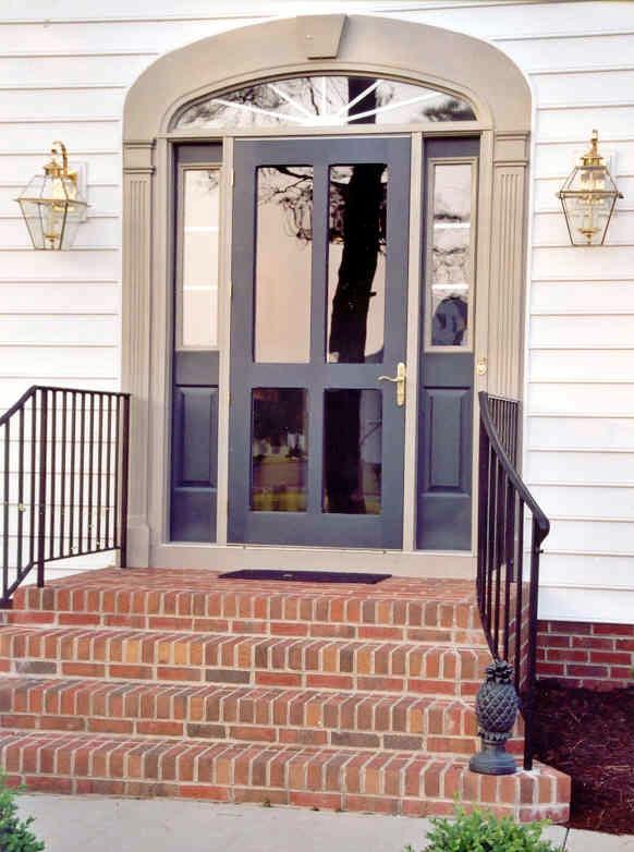 Traditional Screen & Storm Door Monteray Model www