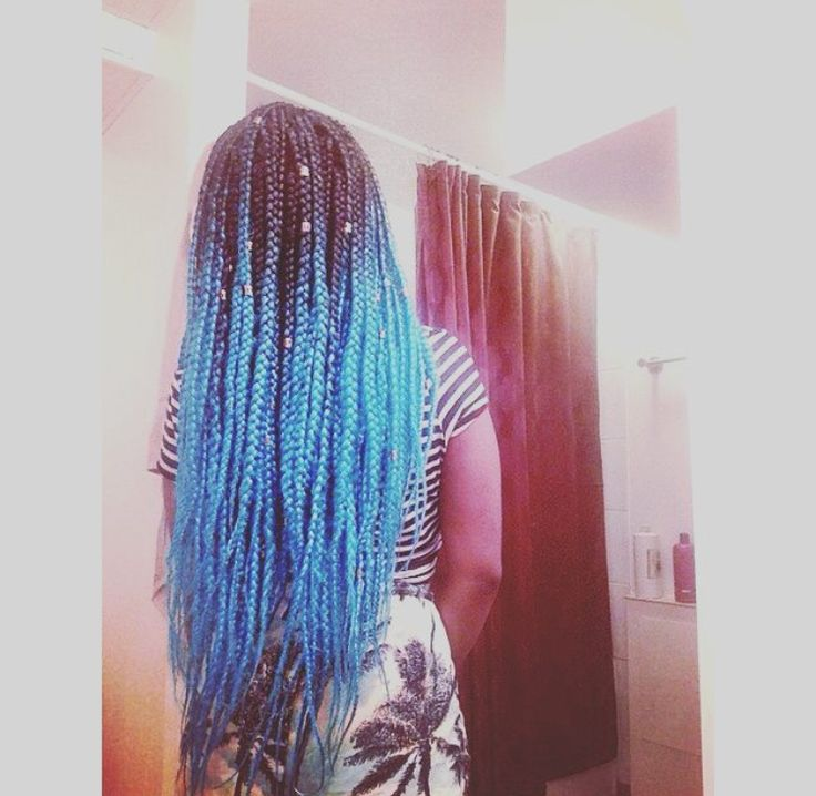 36 Best Images About OMBRE BOX BRAIDSBRAIDING HAIR On