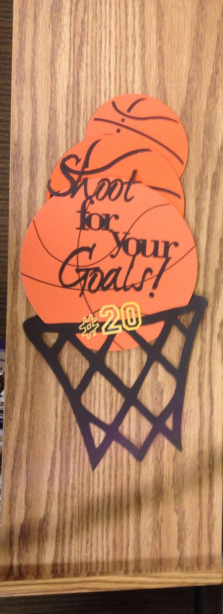Locker Decoration Basketball Pinterest Soccer Boys