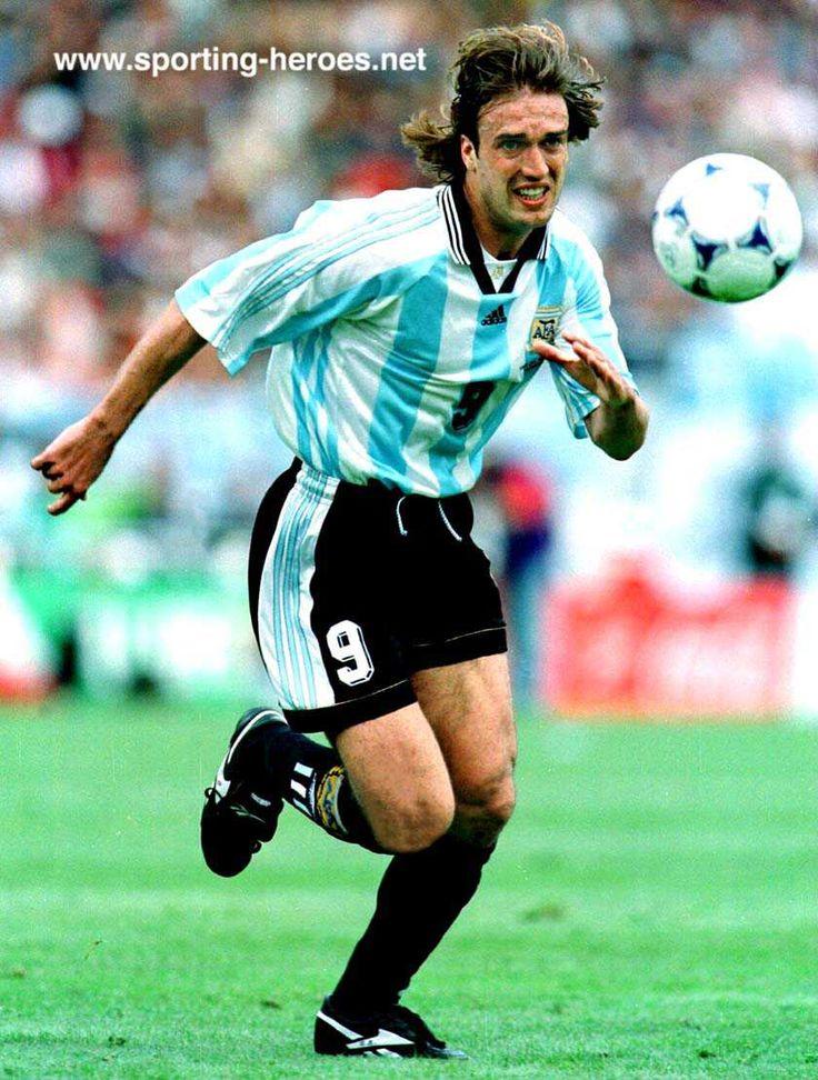 Batistuta el Mejor delantero de la historia argentina