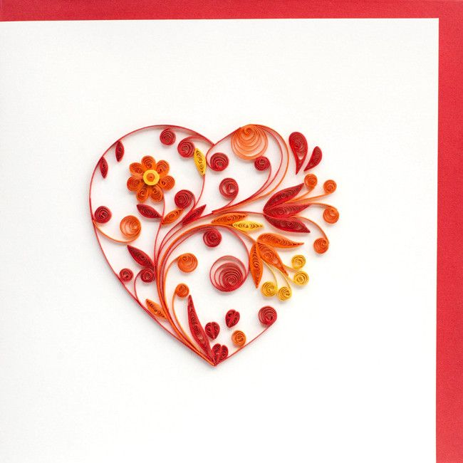 396 Best Images About Quilling Hearts On Pinterest