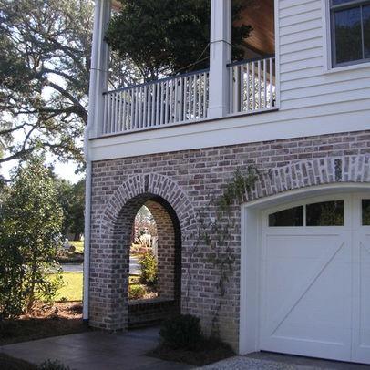 Whitewash Red Brick Siding Home Building Ideas