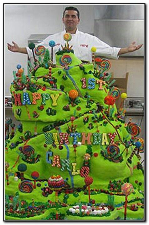 Cake Boss Party Ideas Candy Pinterest Birthdays