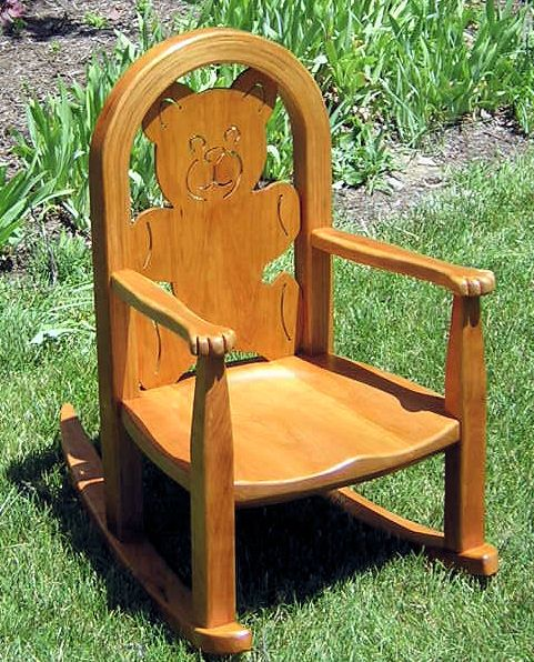 Plans For Childs Rocking Chair WoodWorking Projects Amp Plans