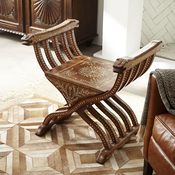 Persian Folding Chair Moroccan Style Pinterest