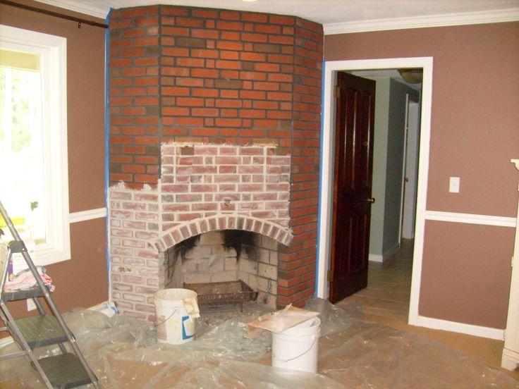 Fireplace mantel mantels the ojays and brick fireplaces