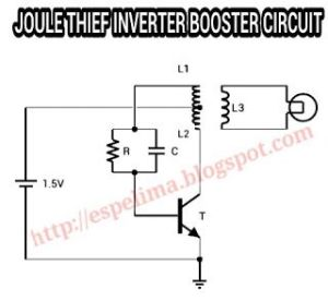 Joule thief inverter 15v to 220v AC light skema circuit | JT | Pinterest | Ac, Joule thief and