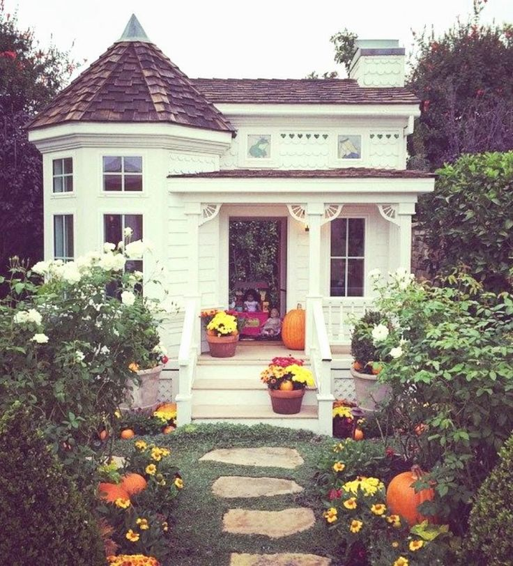 halloween entry and porch cdm home tour Cottages, Sheds