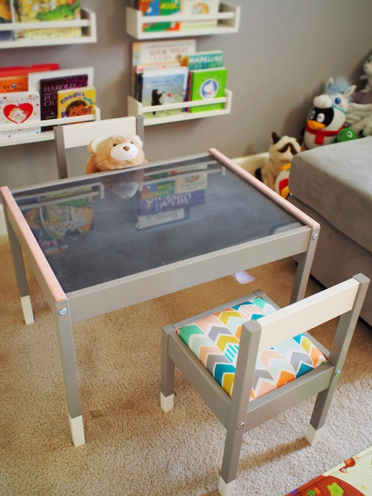 ChibiTofu A's New Play Table An IKEA LATT Hack Craft