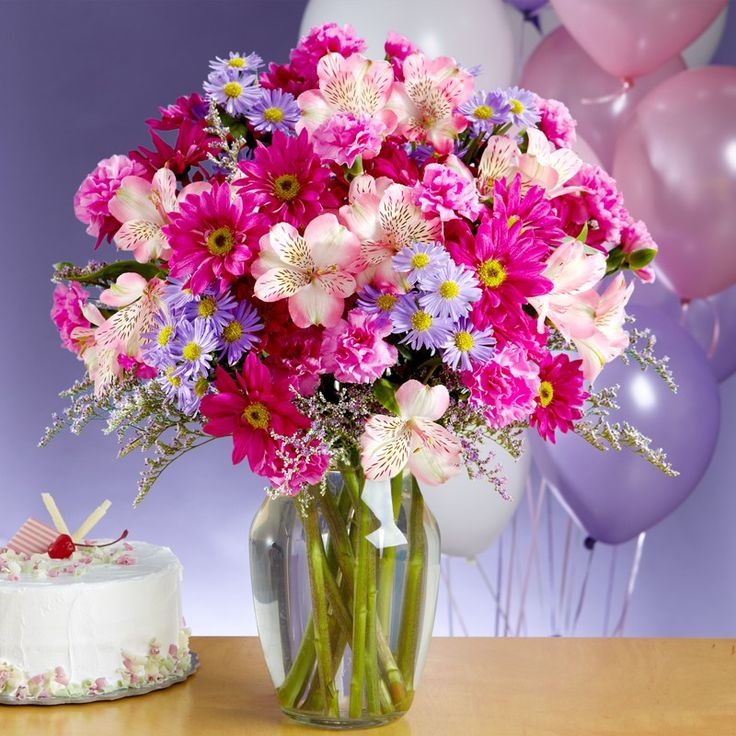 Happy Birthday Flowers images, pictures, wallpapers
