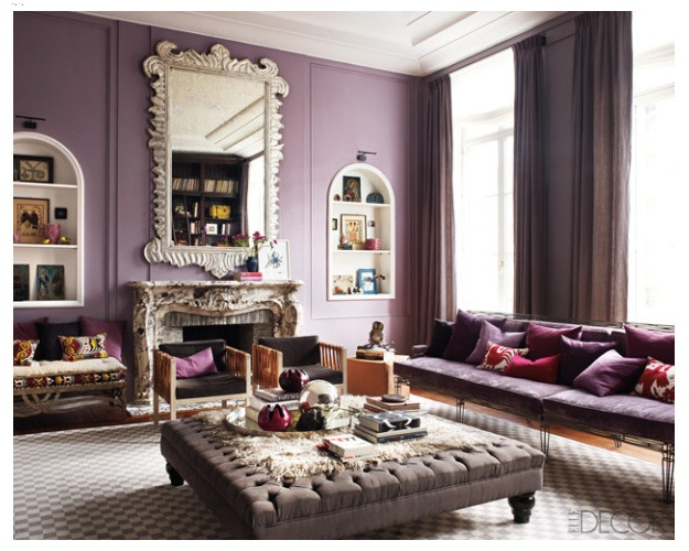 117 Best Images About Plum> Purple>Lavender Wall Color On