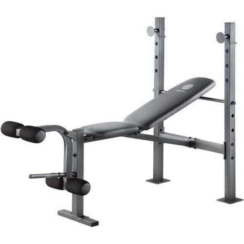 Golds Gym Bench Workout Weights Exercise Training Machine