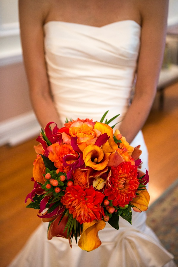 Beautiful fall Bridal bouquet colors. Flowers of Charlotte