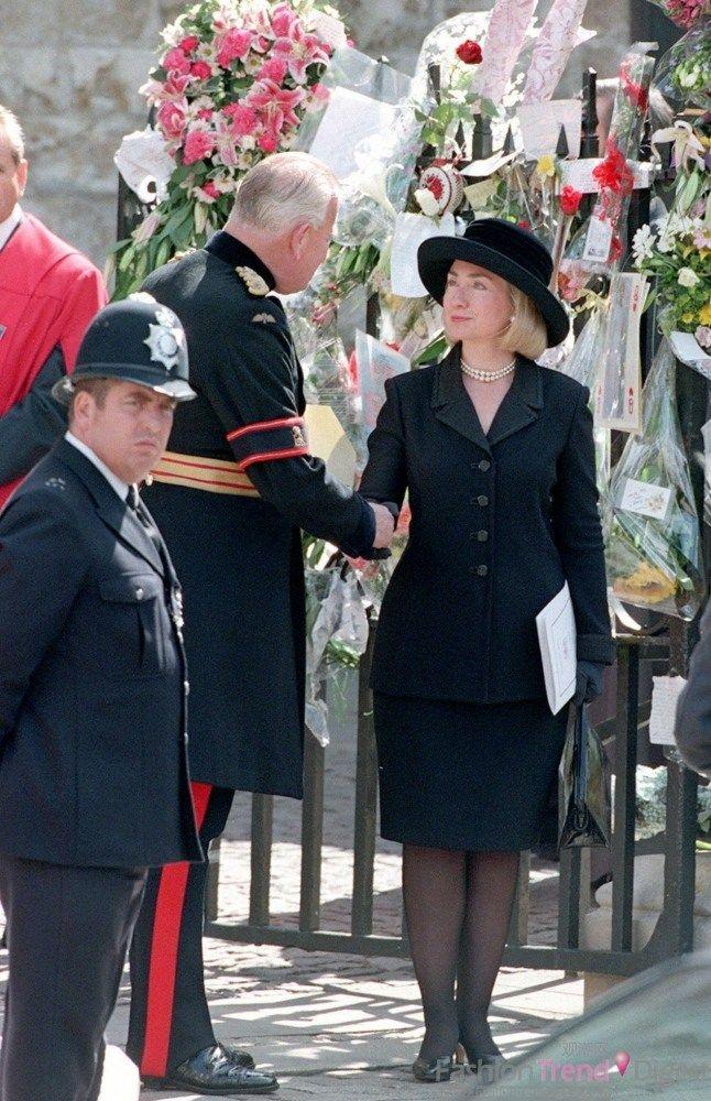 September 1997, at Princess Diana's funeral. Politics