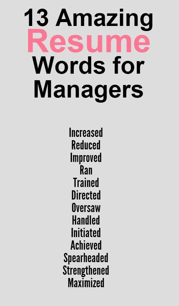 Good Action Words For Resume. egardless of your field of study ...