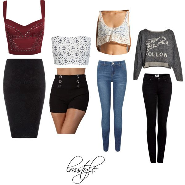 crop top outfits | Requested: Crop Top Outfits ~ Jade – Polyvore