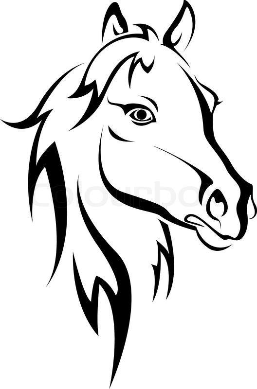 Die Besten 25 Tattoo Pferd Ideen Auf Pinterest Pferde