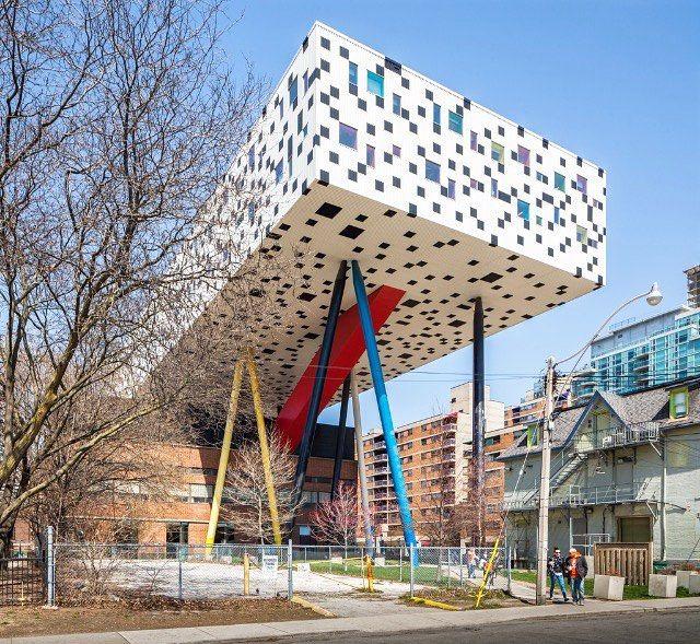 Ontario College of Art & Design. Alsop Architects (2004