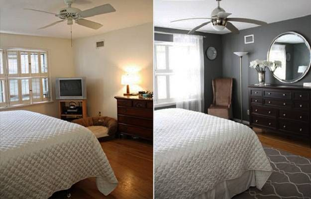 Small Repairs And Room Makeovers For Home Staging, Before