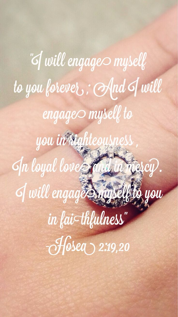 Engaged, engagement, quote, bible Wedd♥ Pinterest