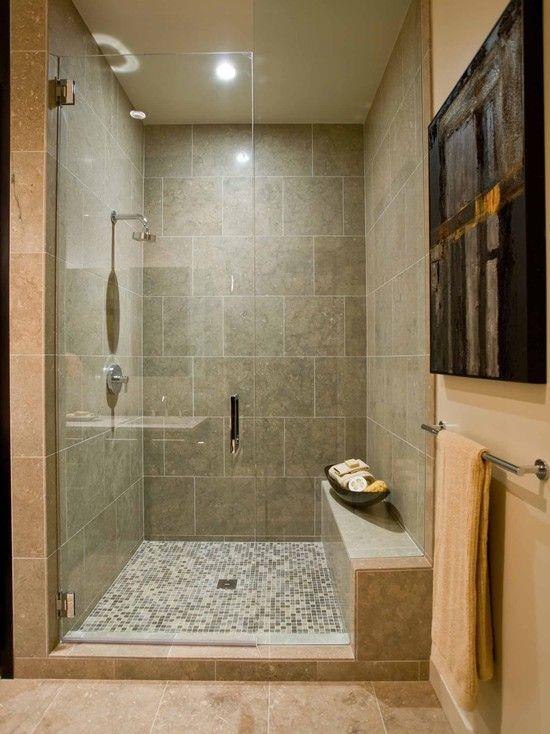 Bathroom Shower Bench Design Basement Ideas Pinterest