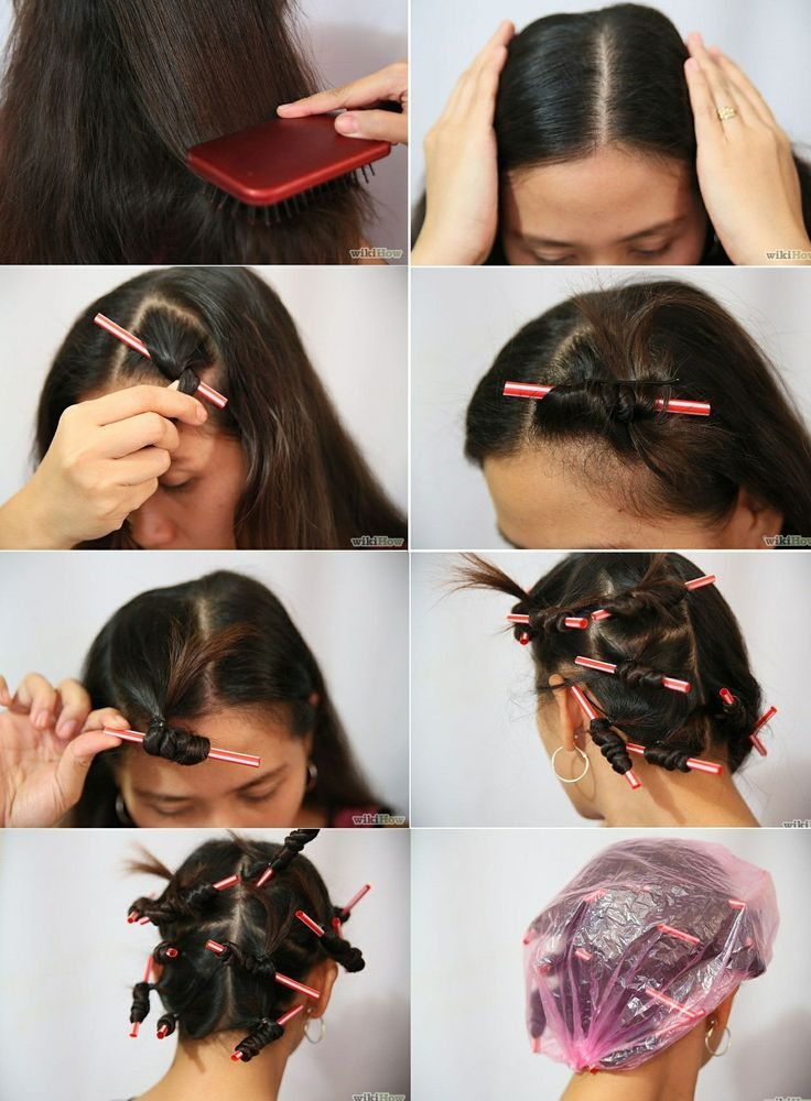 How To Curl Your Hair Overnight Curl Your Hair Hair And
