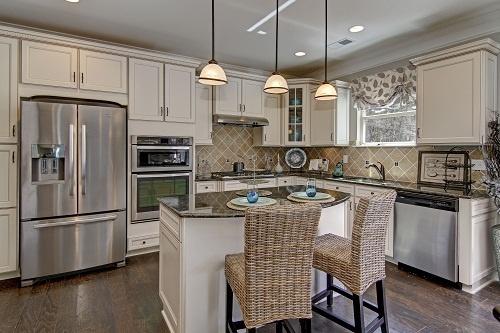 Open Kitchen Design Drexel Model Homes Sale Charlotte