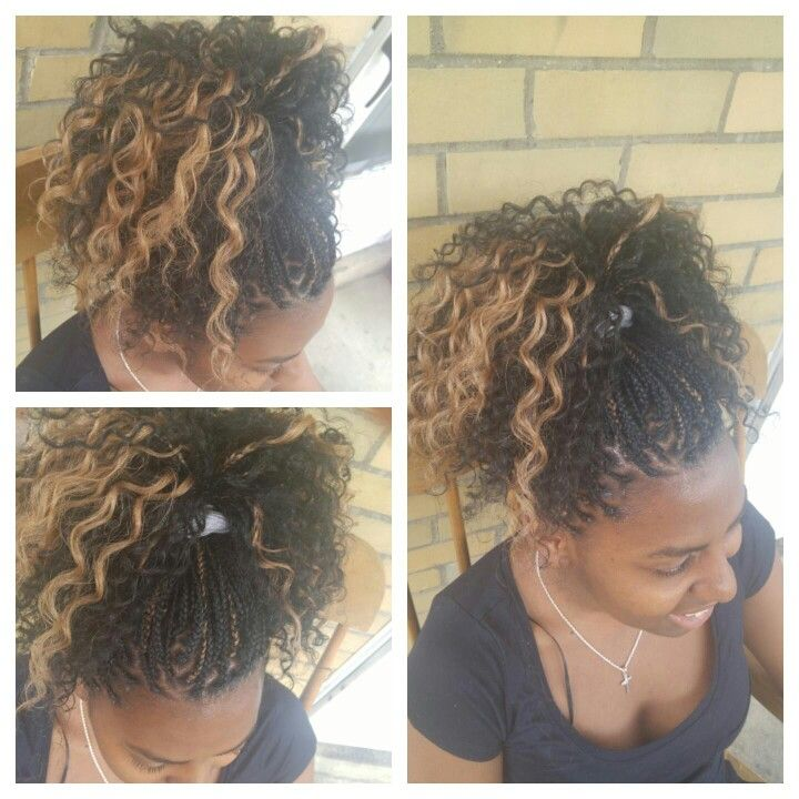 1000 Ideas About Micro Braids Hairstyles On Pinterest