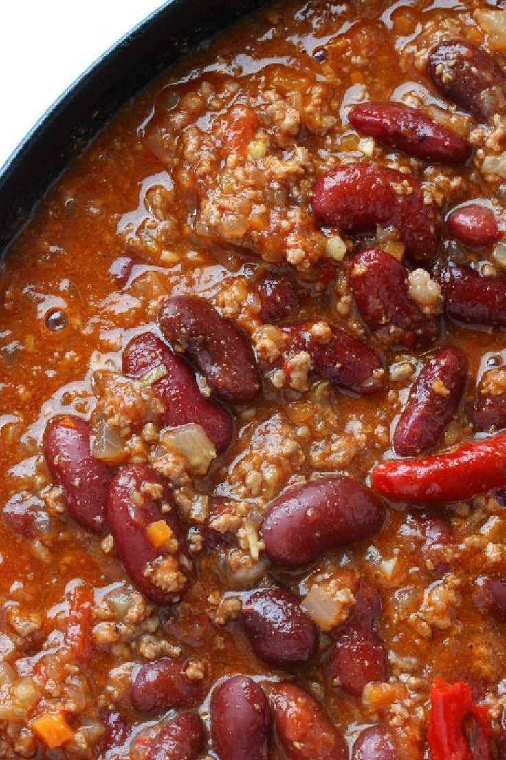 Beanless Easy Chili Recipes