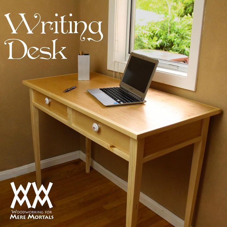 Free Writing Desk Woodworking Plans WoodWorking Projects