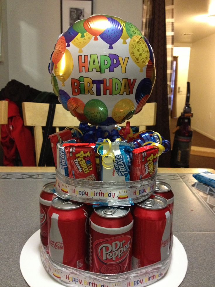 Birthday cake for my 14 year old son i got this idea from