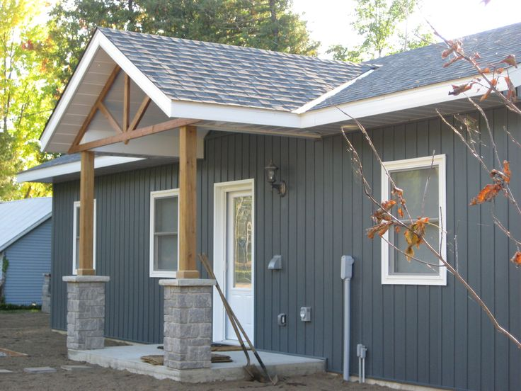 Lake Side Cottage Finished With Midnight Surf Board And