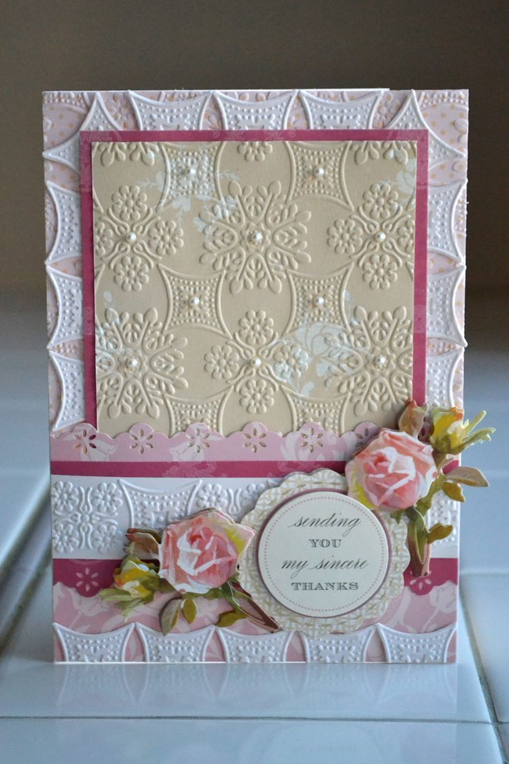 Anna Griffin Embossing Folders Ideas Like This