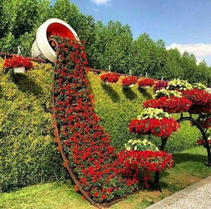 World's largest Flower Garden opens in Dubai. A passion