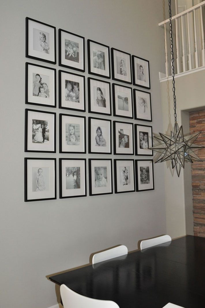25 Best Ideas About Photo Wall Displays On Pinterest